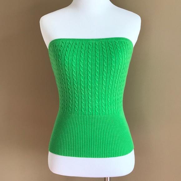 0a4eeda750 Kelly Green Tube Top. NWT. Daisy Fuentes